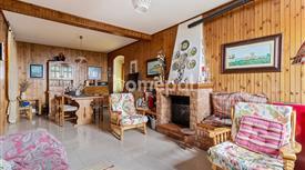 Casa indipendente in stile rustico con terrazzo panoramico sui monti molisani