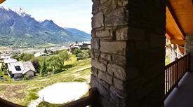 Bilocale baciato dal sole in Valle d'Aosta