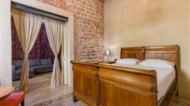 Appartmento con due camere da letto in centro storico e palazzo del Seicento