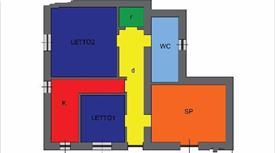 Appartamento con posto auto e cantinola