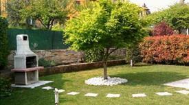 Bilocale con giardino