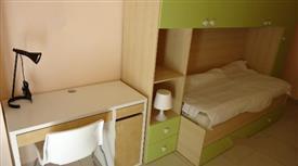 Camera singola nuova per studenti