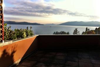 Il terrazzo offre una vista a 180 gradi su tutta la parte nord del Lago Maggiore Piemonte VB Ghiffa