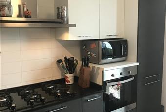 La cucina è luminosa, il pavimento è piastrellato. Terrazza accessibile unicamente dalla cucina Veneto VE Campagna Lupia