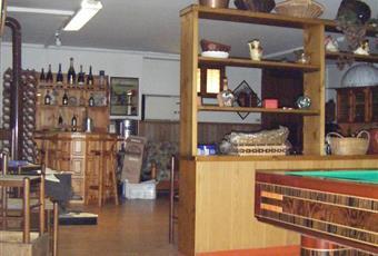 Taverna interno 2 molto ampia con zona bar, tavolo e biliardo. Piemonte AL Belforte Monferrato