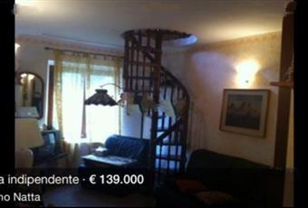 Casa indipendente in vendita in via stazione, 48, Alfiano Natta 129.000 €