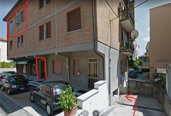 viste della palazzina con identificazione dell'immobile Veneto RO Rovigo