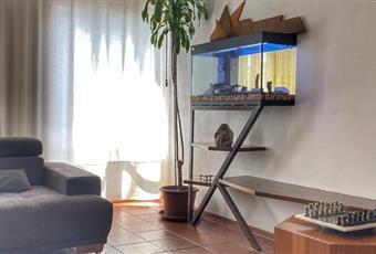 Il pavimento è piastrellato, il salone è molto luminoso e il balcone d'affaccio dà sulla città, piano terzo di 4. si può accedere alla mansarda dall'interno della sala o dall'esterno con accesso indipendente a porta blindata. Rumori eliminati grazie all'installazione di vetrate doppie Veneto VR Verona