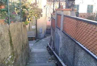 Il salone è con travi a vista, il salone è luminoso Liguria GE Uscio