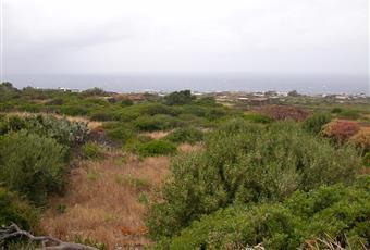 terreno di 4410 m2 in zona Kuddia Bruciata con 180 gradi vista mare e progetto approvato per un dammuso di circa 80 m2: 2 camere, cucina, soggiorno doppio, bagno e potenzialmente una piscina  Sicilia TP Pantelleria