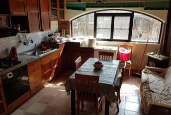 Il pavimento è piastrellato, la cucina è luminosa Campania BN Santa Croce del Sannio