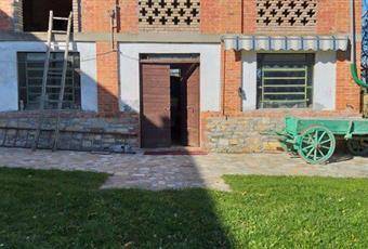 Il giardino è con erba Piemonte AL Fabbrica Curone