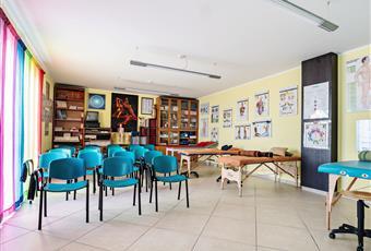 Sala riunioni dell'edificio adiacente. Campania SA Capaccio