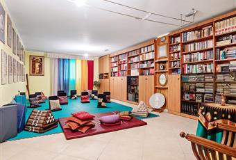 Sala per Yoga dell'edificio adiacente.  Campania SA Capaccio