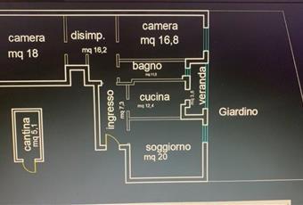 planimetria appartamento Abruzzo CH Ortona