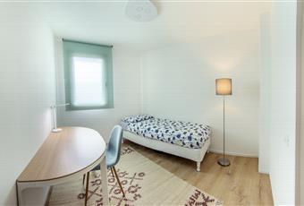 Il pavimento è di parquet, il pavimento è piastrellato, la camera è luminosa Veneto VE Quarto D'altino