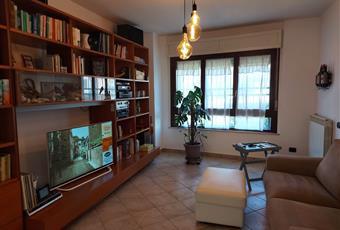 Il salone è luminoso, il pavimento è piastrellato Lazio LT Latina