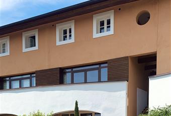 la facciata dalla parte dell'ingresso principale.  Toscana PO Carmignano