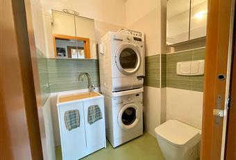 Il bagno secondario è adibito a lavanderia. Veneto PD Trebaseleghe