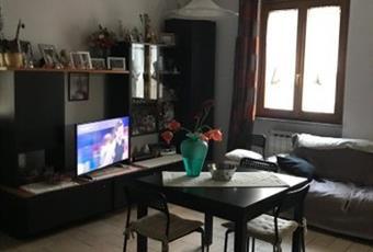Il salone è luminoso, il pavimento è piastrellato Liguria SV Pallare