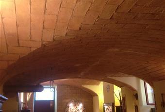 Il salone fa parte di un open space di 90 mq circa che include anche piano cottura/angolo bar e salottino separato da muro in mattoni e vetro cemento. Ha soffitto a volta con mattoni a vista, il pavimento è simil cotto. Porta blindata e video camera. Nell'ingresso è situata una fontana perfettamente funzionante realizzata con frammenti di marmo.  Lazio RM Roma