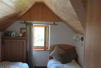 La camera è luminosa ed e composta da due letti singoli Trentino-Alto Adige BZ Ortisei