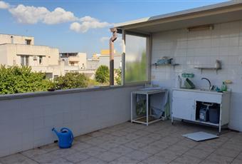 Terrazzo con accesso dalla cucina Puglia LE Melissano