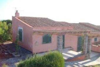 Parte della facciata della villa . Sardegna CI Carloforte