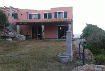 Parte della facciata della villa con vista della veranda . Sardegna CI Carloforte