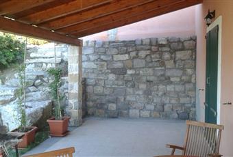 Vista parziale della veranda coperta. Sardegna CI Carloforte