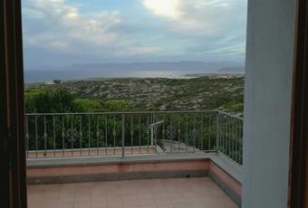 Scorcio di panorama dalla camera da letto padronale. Sardegna CI Carloforte
