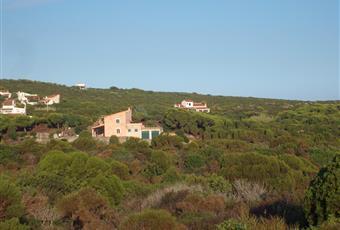 Panorama e vista della villa. Sardegna CI Carloforte