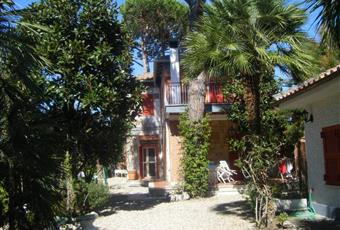Villa con giardino alberato