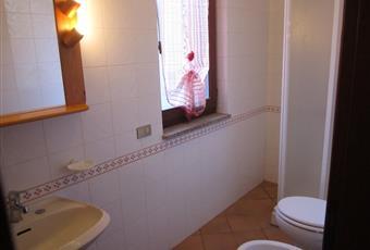 Il pavimento è piastrellato, il bagno è luminoso e i box doccia sono in vetroresina Toscana LI Capoliveri