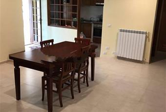 Il salone è con camino, il pavimento è piastrellato Lazio LT Bassiano