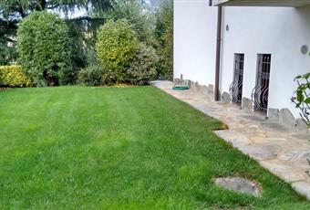 Il giardino è con erba Lombardia BG Gandino