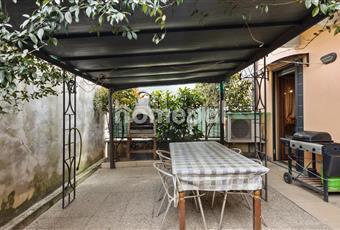 Veranda sia sul fronte che sul retro della casa Lombardia BG Seriate