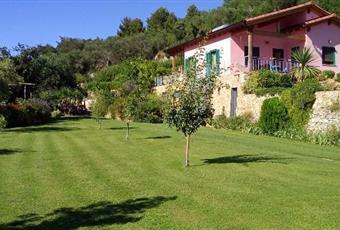 Il giardino è con erba Liguria SV Finale ligure