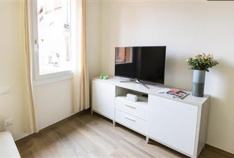 Il pavimento è di ceramica effetto parquet, il salone è con travi a vista, luminoso Emilia-Romagna BO Bologna