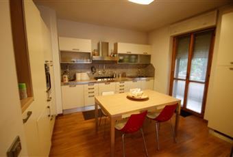 Il pavimento è di parquet e la cucina è comodamente abitabile. Marche FM Porto Sant'Elpidio