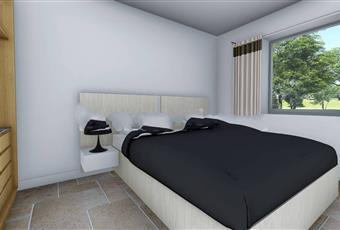 La camera è luminosa, il pavimento è piastrellato Puglia BR Ostuni