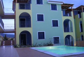vista dall'interno del residence dei 4 bilocali posti a 1° e 2° piano Sardegna SS Valledoria