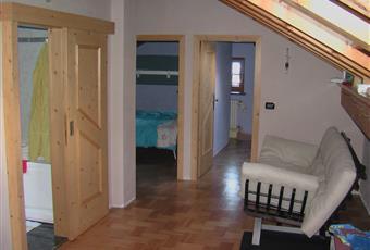 stanza da letto a piano mansardato Valle d'Aosta AO Gressoney-La-Trinitè