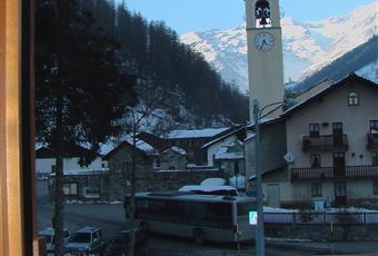 vista dai balconi e della finestre dell'appartamento Valle d'Aosta AO Gressoney-La-Trinitè