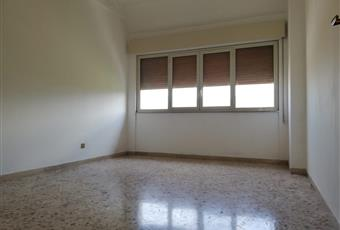 La stanza è luminosa con un ampia finestra e gli infissi in alluminio e vetro camera Sicilia PA Palermo