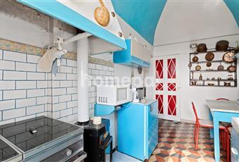 Cucina abitabile caratteristica Liguria IM Villa Faraldi