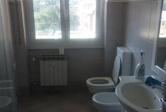 Il pavimento è piastrellato, il bagno è luminoso Piemonte AL Cassano Spinola