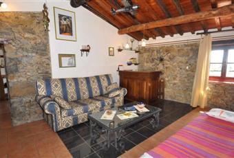 salotto rustico con letto singolo Toscana LU Pescaglia
