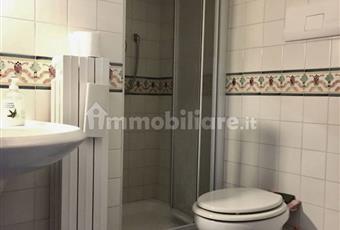 Bagno con doccia, al servizio della camera matrimoniale, piastrelle di Vietri, molto luminoso Campania BN Benevento