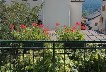 il terrazzo è rivolto a Sud est  Veneto BL Domegge di Cadore